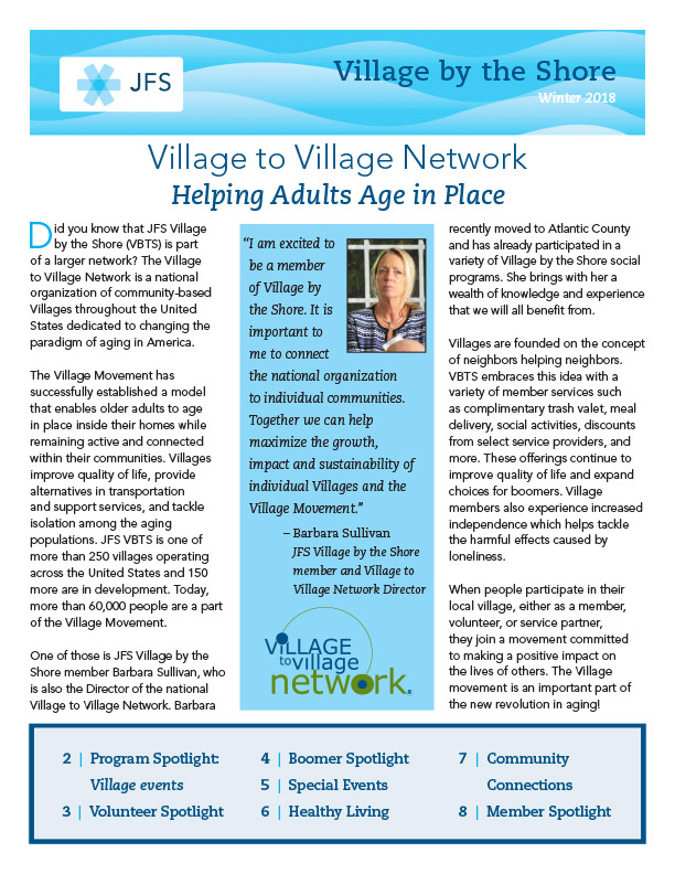 Village Newsletter Winter2018.cover